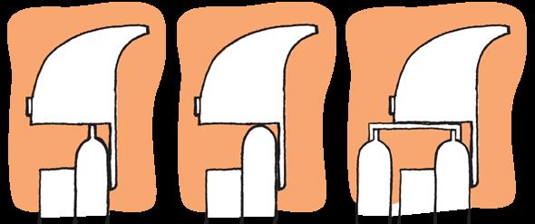Druhy radiátoru pro RadFan